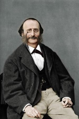 Jacques Offenbach (1819-1880), German-born French composer, cellist and impresario of the romantic