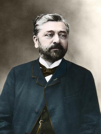 Portrait of Gustav Eiffel (1823-1923) French engineer