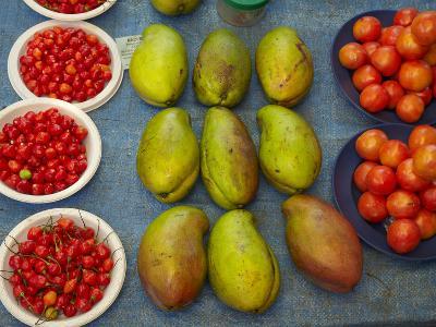 Nadi Produce Market, Nadi, Viti Levu, Fiji, South Pacific-David Wall-Photographic Print