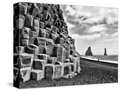 Basalt Columns and Sea Stacks, Reynisfjara, Iceland