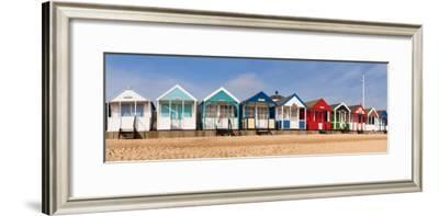 Beach Huts in Southwold, Suffolk, UK
