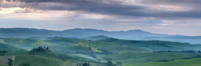 Belvedere at Dawn, Valle De Orcia, Tuscany, Italy by Nadia Isakova