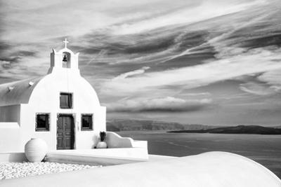 Church in Oia, Santorini (Thira), Greece by Nadia Isakova