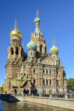 Church of our Saviour on the spilled blood on Griboedov Canal, Saint Petersburg, Russia by Nadia Isakova