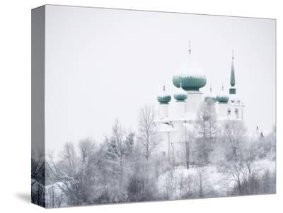 Church of St. John the Baptist in Winter, Staraya Ladoga, Leningrad Region, Russia