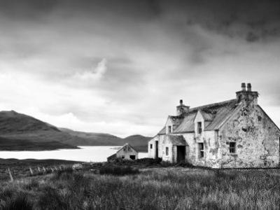 Deserted Farm Near Arivruach, Isle of Lewis, Hebrides, Scotland, UK by Nadia Isakova