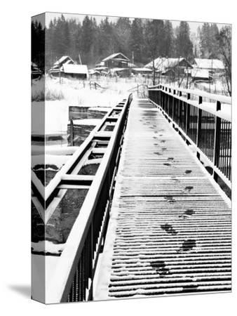Footprints on the Bridge, Somino Village, Leningrad Region, Russia