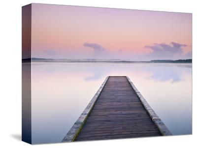 Jetty on the Lake Azur, Les Landes, Franc