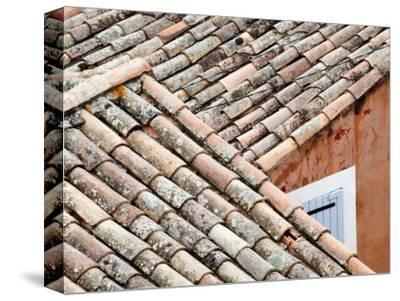 Roofs of Roussillon, Provence, France