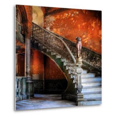 Staircase in the Old Building/ Entrance to La Guarida Restaurant, Havana, Cuba, Caribbean