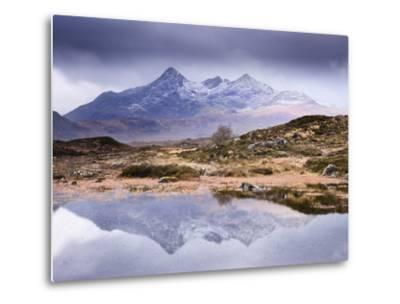 The Cuillins Reflected in the Lochan, Sligachan, Isle of Skye, Scotland, UK