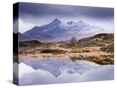 The Cuillins Reflected in the Lochan, Sligachan, Isle of Skye, Scotland, UK