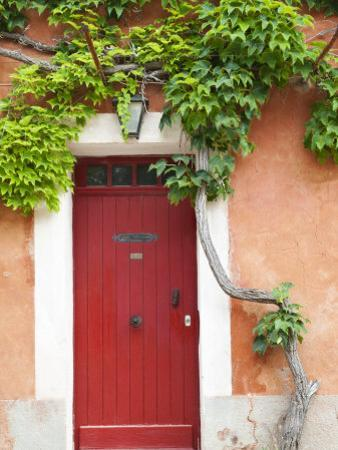 Traditional Architecture in Roussillon, Provence, France