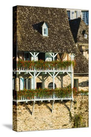 Typical Architecture in Argentat, Limousin, France