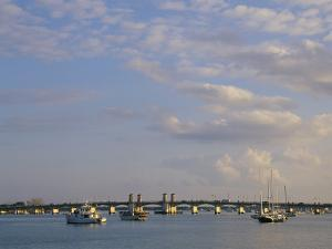 The Bridge of Lions Connects St. Augustine And Anastasia Island by Nadia M. B. Hughes