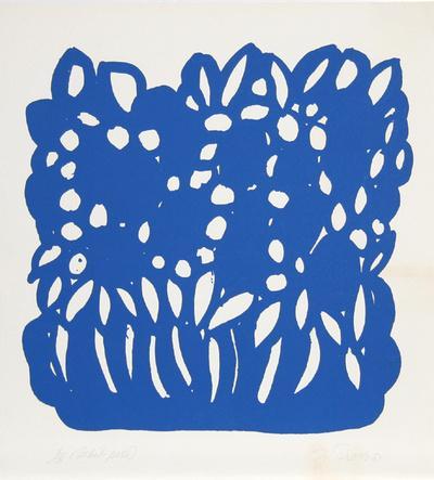 Untitled - Blue Flowers