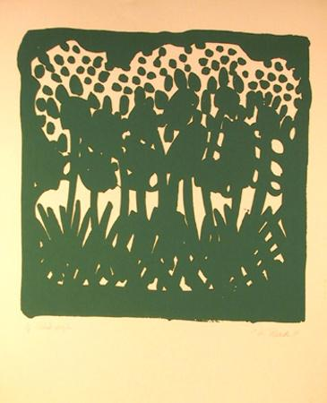 Untitled - Green Flowers