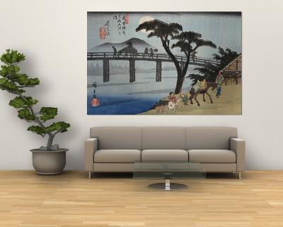 Nagakubo-Ando Hiroshige-Wall Mural