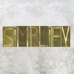 """Earthy Background Image And Design Element Depicting The Word """"Simplify"""" by nagib"""