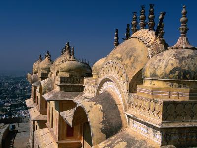 Nahargarh Fort, Jaipur, Rajasthan, India-Anders Blomqvist-Photographic Print