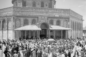Nahas Pasha's visit to Dome of the Rock, 1943