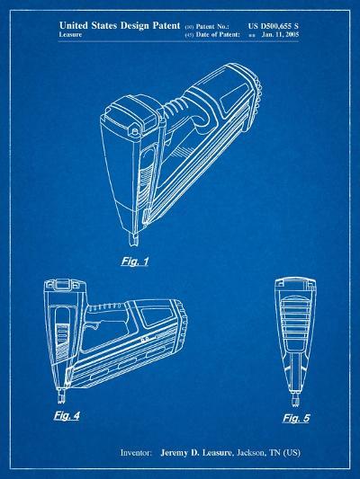 Nail Gun-Cole Borders-Art Print