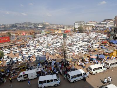 Nakasero Market, Kampala, Uganda, East Africa, Africa-Groenendijk Peter-Photographic Print