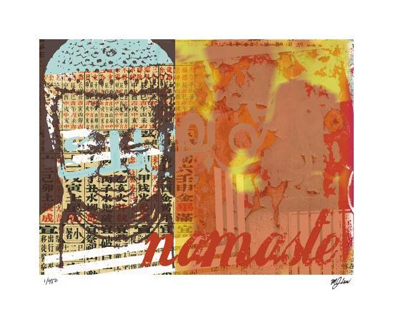 Namaste I-Mj Lew-Giclee Print