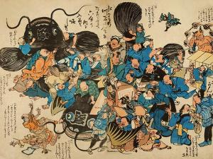 Namazu Being Attacked by Peasants