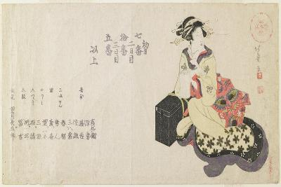 Name List of the Musicians-Shotei Hokuju-Giclee Print