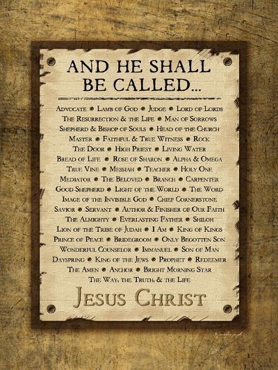 Names of Christ-Jennifer Pugh-Art Print