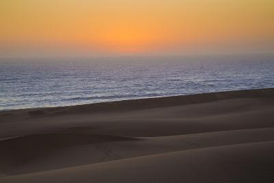 Namibia, Namib Desert, Swakopmund. Sunset on Skeleton Coast-Wendy Kaveney-Photographic Print