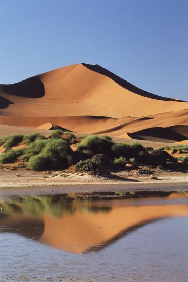 Namibia, Sossusvlei Region, Sand Dunes-Gavriel Jecan-Photographic Print