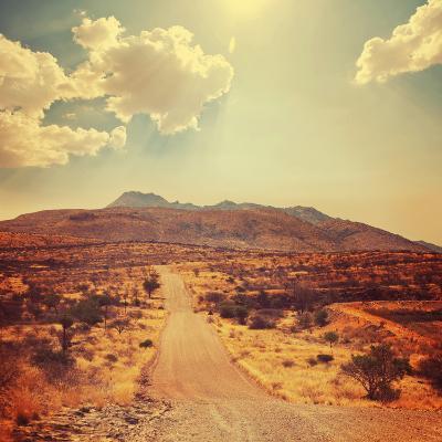 Namibian Landscape-Galyna Andrushko-Photographic Print