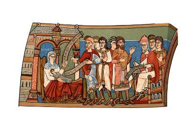Naming of St John the Baptist, 12th Century--Giclee Print