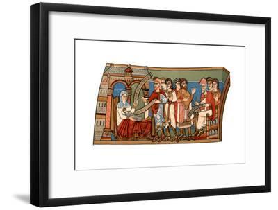 Naming of St John the Baptist, 12th Century