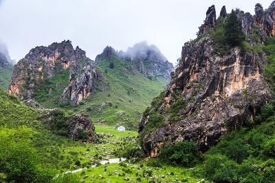 Namo Grand Canyon, Sichuan China-Feng Wei Photography-Photographic Print