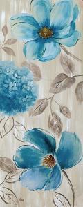 Blue Garden I by Nan