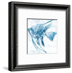Blue Marble Tropical Fish by Nan