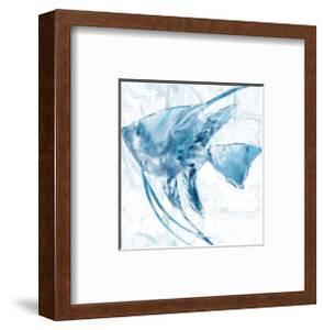 Blue Marble Tropical Fish by Nan