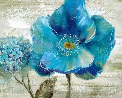 Blue Poppy Poem II