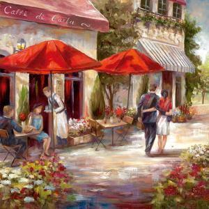 Café Afternoon I by Nan