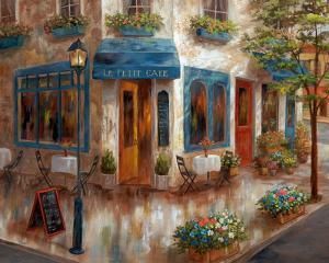 Le Petit Café by Nan