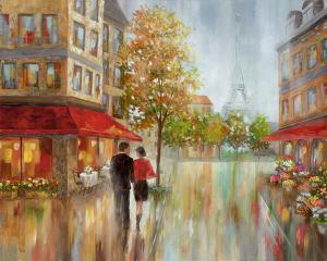 Romantic Promenade II by Nan