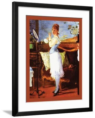 Nana-Edouard Manet-Framed Art Print