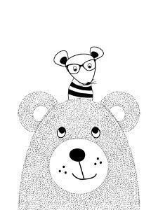 Bearmouse by Nanamia Design