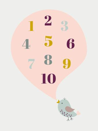 Birdnumbers by Nanamia Design