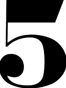 Five by Nanamia Design