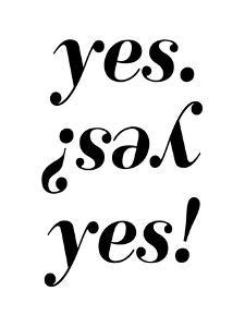 Yes by Nanamia Design