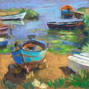 Fishing Boats in Marsala by Nancie King Mertz